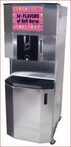 Ice cream machine 24 flavors Fuzionate - SYS24